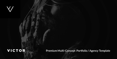 ThemeForest - VICTOR v1.0 - Premium Creative Portfolio / Agency / Photography / Personal / Multi-Concept Web Template - 1979697