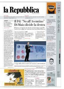 la Repubblica - 18 Marzo 2018