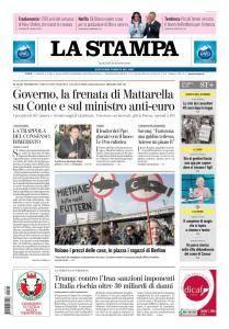 La Stampa Torino Provincia e Canavese - 22 Maggio 2018