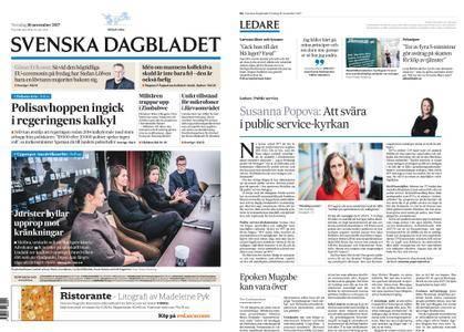 Svenska Dagbladet – 16 november 2017