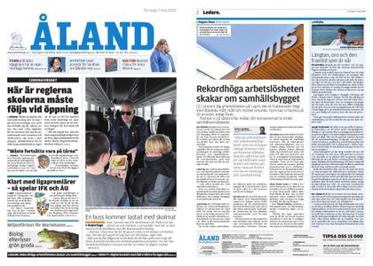 Ålandstidningen – 07 maj 2020
