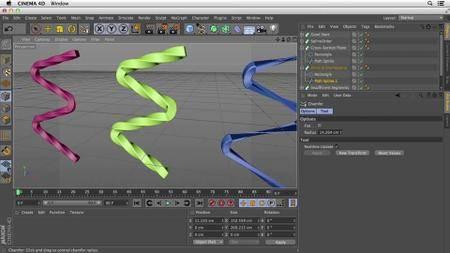 Primitive and Spline Modeling in Cinema 4D