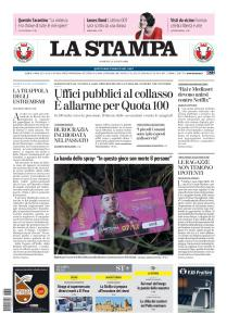 La Stampa Imperia e Sanremo - 4 Agosto 2019
