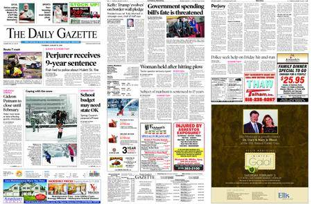 The Daily Gazette – January 18, 2018