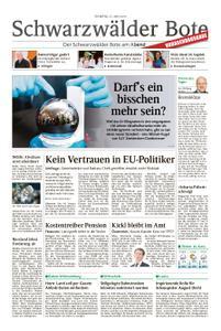 Schwarzwälder Bote Blumberg - 21. Mai 2019