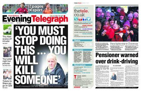 Evening Telegraph First Edition – November 17, 2017