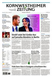 Kornwestheimer Zeitung - 16. Oktober 2018