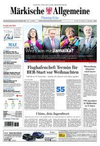 Märkische Allgemeine Fläming Echo - 18. November 2017