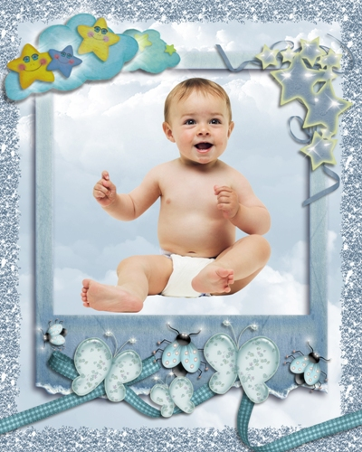 Frame for Photoshop - Heavenly