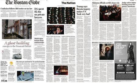 The Boston Globe – December 29, 2017