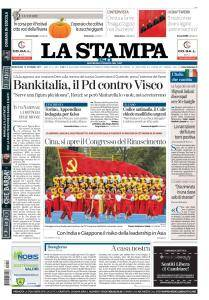 La Stampa Imperia e Sanremo - 18 Ottobre 2017
