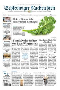 Schleswiger Nachrichten - 18. November 2019