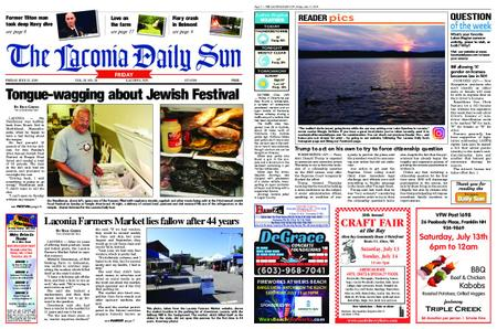 The Laconia Daily Sun – July 12, 2019