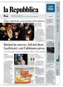 la Repubblica - 15 Gennaio 2019