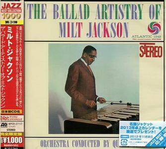 Milt Jackson - The Ballad Artistry of Milt Jackson (1959) {2012 Japan Jazz Best Collection 1000 Series WPCR-27117}