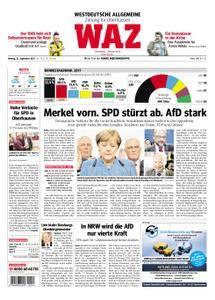 WAZ Westdeutsche Allgemeine Zeitung Oberhausen-Sterkrade - 25. September 2017