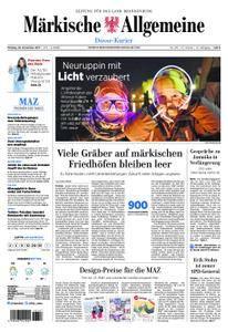 Märkische Allgemeine Dosse Kurier - 20. November 2017