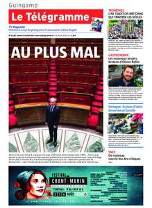 Le Télégramme Guingamp – 13 juillet 2019