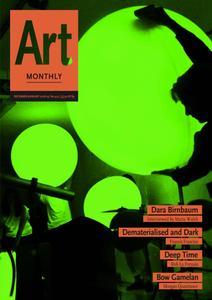 Art Monthly - December 2018   No 422