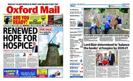 Oxford Mail – August 03, 2018
