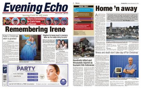 Evening Echo – December 24, 2018