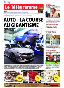 Le Télégramme Auray – 31 octobre 2019