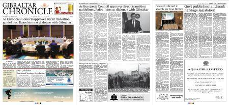 Gibraltar Chronicle – 24 March 2018