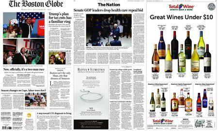 The Boston Globe – September 27, 2017