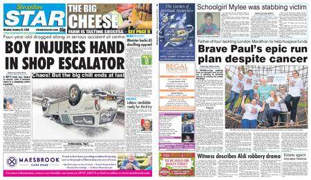 Shropshire Star Shrewsbury Edition – January 22, 2018