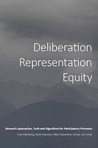 Deliberation, Representation, Equity: Research Approaches, Tools and Algorithms for Participatory Processes