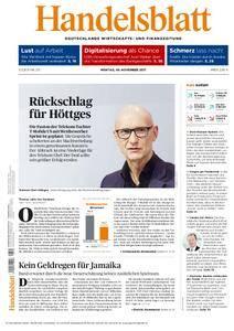 Handelsblatt - 06. November 2017