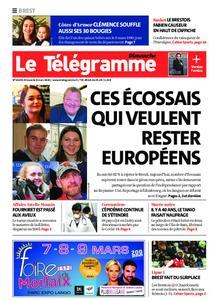 Le Télégramme Brest Abers Iroise – 08 mars 2020