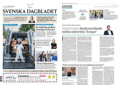 Svenska Dagbladet – 14 oktober 2019