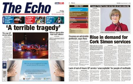Evening Echo – December 11, 2020