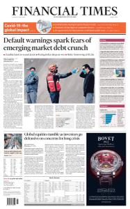 Financial Times Middle East - April 2, 2020