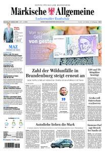 Märkische Allgemeine Luckenwalder Rundschau - 23. Oktober 2018