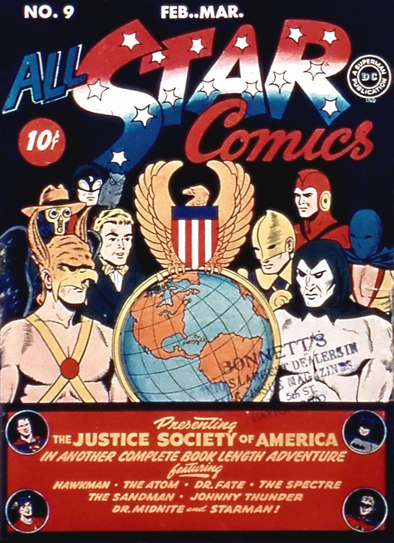 All-Star Comics 009F 1942 Darkmark and Icarus-DCP