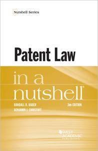Patent Law in Nutshell (Nutshells), 3rd Edition
