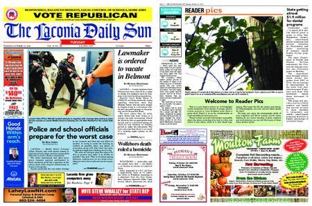 The Laconia Daily Sun – October 23, 2018