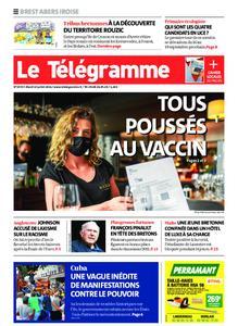 Le Télégramme Brest Abers Iroise – 13 juillet 2021