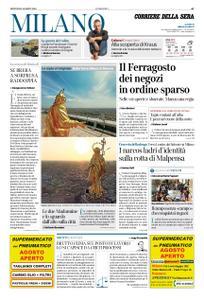 Corriere della Sera Milano – 15 agosto 2019