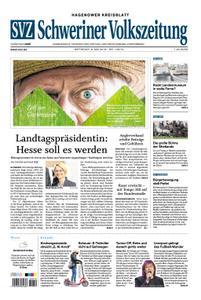 Schweriner Volkszeitung Hagenower Kreisblatt - 08. Mai 2019
