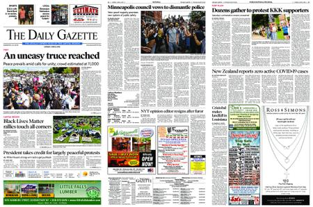 The Daily Gazette – June 08, 2020