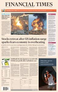 Financial Times Middle East - May 13, 2021