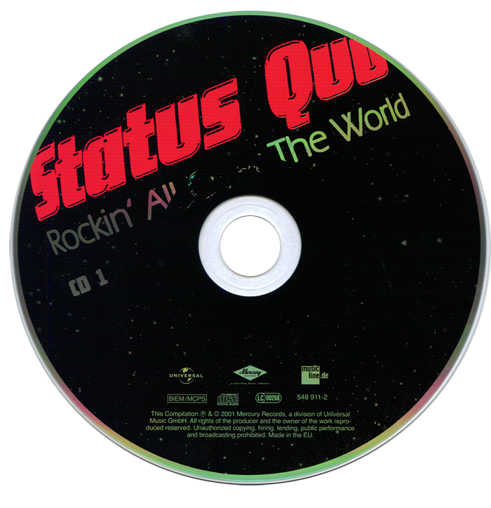 Status Quo - Rockin All Over the World (2001) [3CD Box]