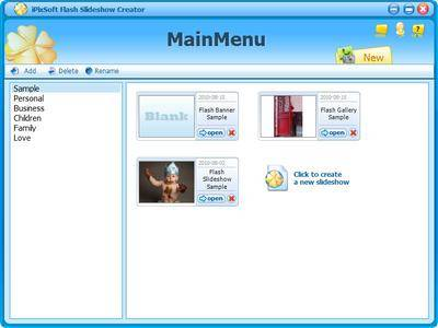 iPixSoft Flash Slideshow Creator 5.6.0 Portable