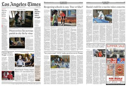 Los Angeles Times – August 08, 2020
