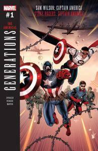 Generations - Sam Wilson Captain America  Steve Rogers Captain America 001 2017 Digital Zone-Empire