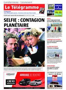 Le Télégramme Landerneau - Lesneven – 07 septembre 2019