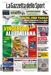 La Gazzetta dello Sport Roma – 07 aprile 2020